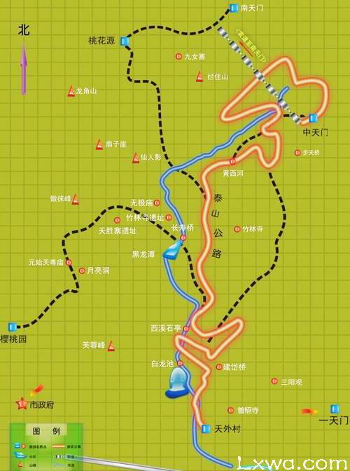 天下第一山攻略v天下泰山旅游线路旅游行程攻略购买珍珠五岳图片
